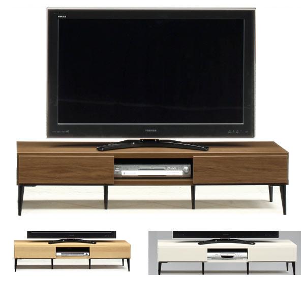 スチール脚のお洒落な 日本製150幅  TV テレビ台 3色 ローボード シンプルモダン インテリア 家具 TV ミッドセンチェリー GMK-tv