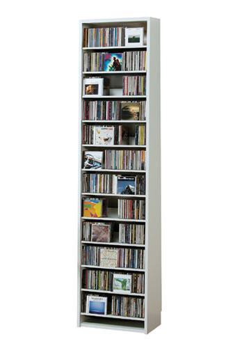 最大CD収納枚数540枚!最大DVD収納枚数232枚!ディスプレイしながら大量収納! 大容量 CDラック  幅48.5cm  【S5】 t005-m135- cs540 【メーカー直送】 【QSM-260】【2D】