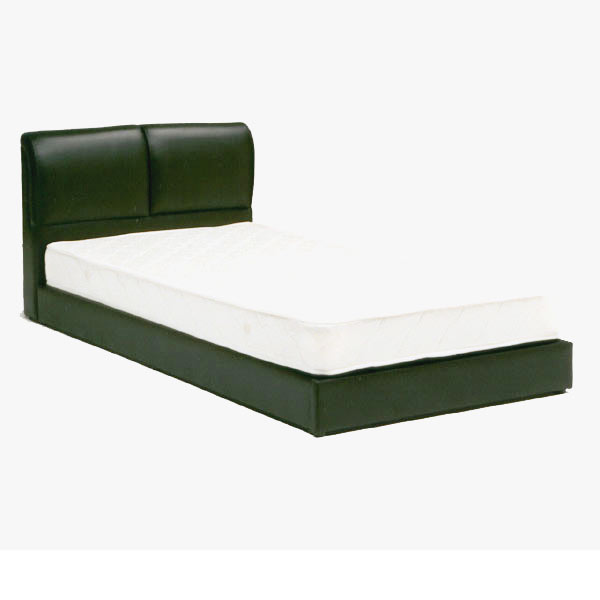 セミダブル ベッド フレーム のみ レザーベッド ブラック ベッド ベット GMK 【QOG-60】m069-jst-sd