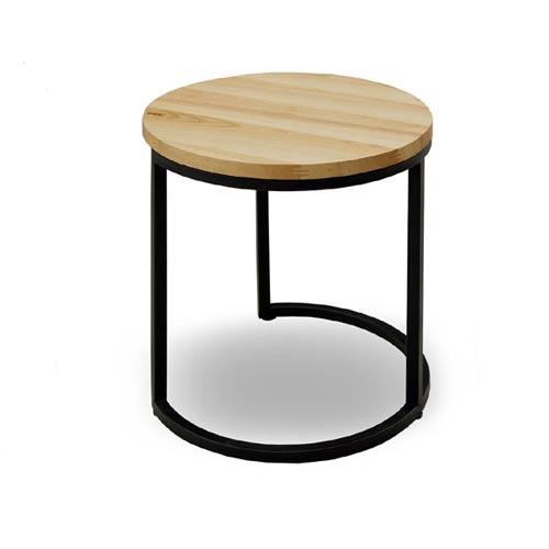 テーブル サイドテーブル ソファテーブル 丸テーブル  無垢材 ローテーブル 北欧家具   ソファー【QSM-160】  t001-【2D】