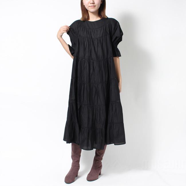 マーレット MERLETTE レディース ワンピース ブラウス ドレス PARADIS BLACK 55N53【送料無料】