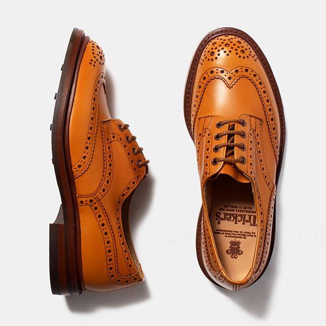 トリッカーズ Tricker's メンズ 紳士靴 レザーシューズ 革靴 BOURTON ACORN 5633-38【送料無料】