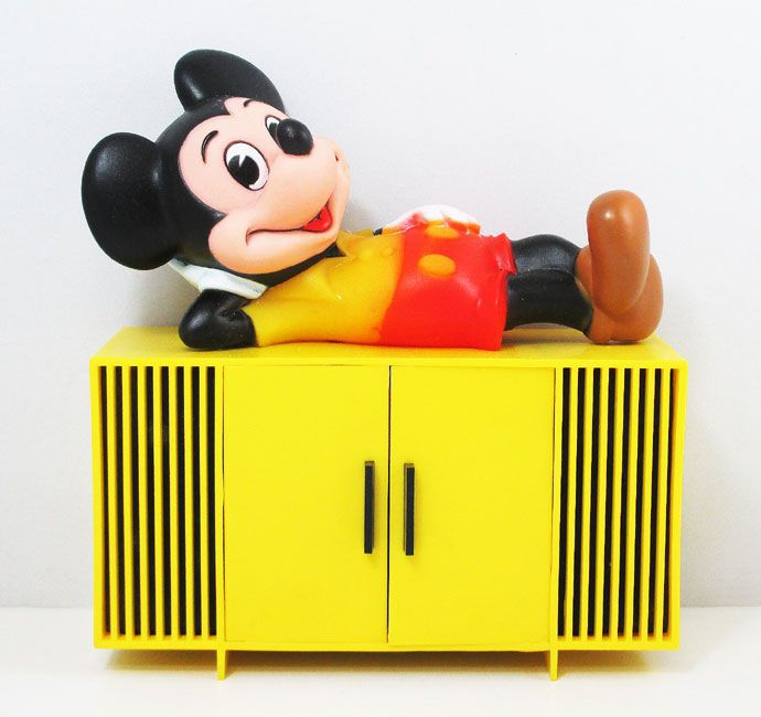 【ディズニー/Disney】『ミッキー・マウス HI-FI RADIO』ミッキー・ラジオ・アメキャラ・アメリカン雑貨・レトロ・コレクション