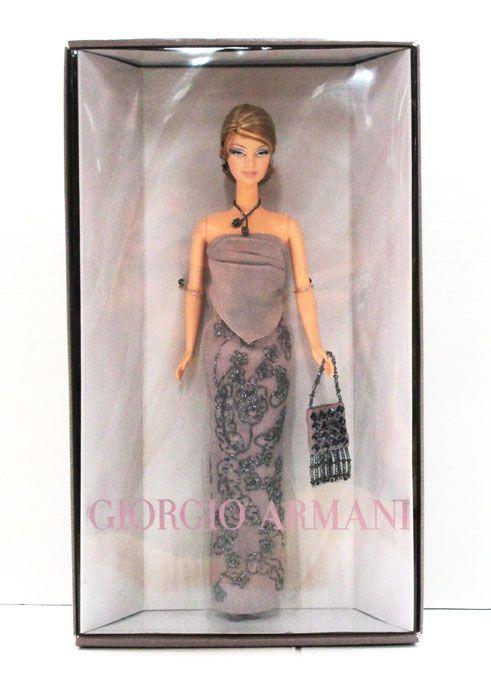 【Barbie/バービー】『ジョルジオ・アルマーニ』Gorgio Armani・ブランド・コラボレーション・ドール