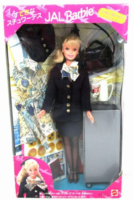 【バービー/barbie 】ドール・人形『すてきなスチュワーデス JALバービー※パッケージダメージあり※』日本航空 職業 マテル アメキャラ アメトイ コレクション