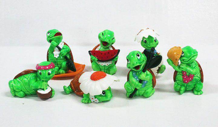 【キンダーサプライズ/Kinder Surprise】(イタリア版)『TINY/7個』カメ・動物・コレクション