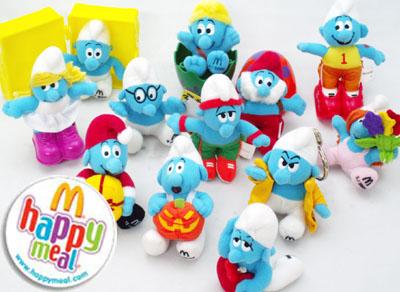 【McDonald's/マクドナルド】スマーフ プラッシュ12種セット 【SMURF/スマーフ】