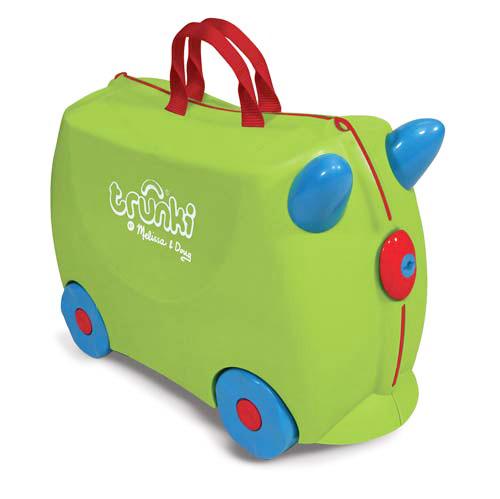 TRUNKI トランキ JADE Green(グリーン) 英国発!ポップでキュートなお子様サイズのスーツケース キャリーバック 旅行 トラベル キッズ おもちゃ箱 ファンシー かわいい