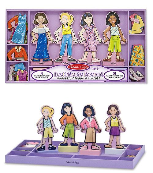 ◎マグネット着せ替えセット 【Best Friends Forever! Magnetic Dress-Up Set】