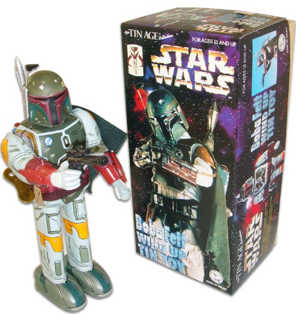 【スターウォーズ/STAR WARS】『ブリキ ロボット/ボバ・フェット(限定)』ボバフェット・キャラクター・アメキャラ・映画・コレクション