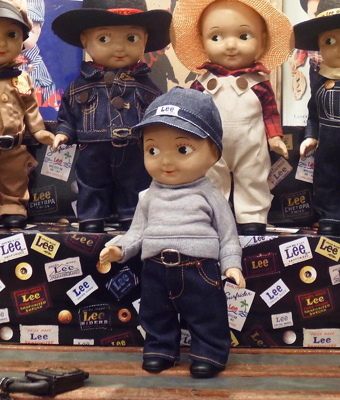 ◎ Buddy Lee ドール 【 スウェット 】 バディリー 第3弾(バディーリー / バディ・リー / バディー・リー)人形 フィギュア アメリカ雑貨 アメ雑 アメリカン雑貨