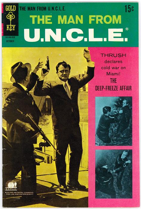 1点のみ入荷 ヴィンテージ コミックス THE MAN NEW FROM U.N.C.L.E. OCTOBER 2020新作 GOLD 1968 0011ナポレオン COMICS ソロ KEY