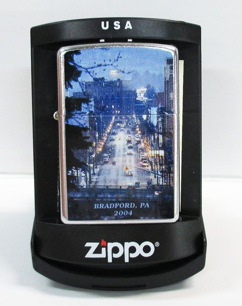 【ZIPPO/ジッポー】ライター『BRADFORD.P.A. 2004/No.B-258』アメリカン雑貨・喫煙具・コレクション