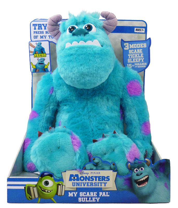 【モンスターズユニバーシティ】マイ スケア パル『サリー』ディズニー Disney Pixar Monsters University モンスターズインク トーキング ぬいぐるみ アメキャラ