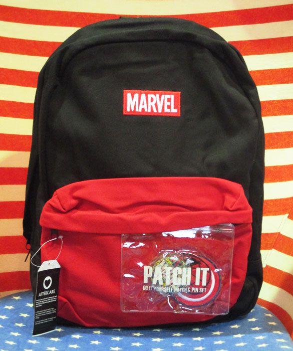 【マーベル/Marvel】リュック・バックパック『ネーム/BK×RE』アメコミ・アメキャラ・鞄