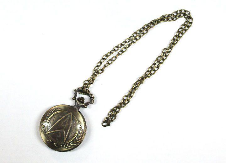 【スタートレック/STAR TREK】懐中時計『ロゴ』キーチェーン・キーホルダー・映画・SF