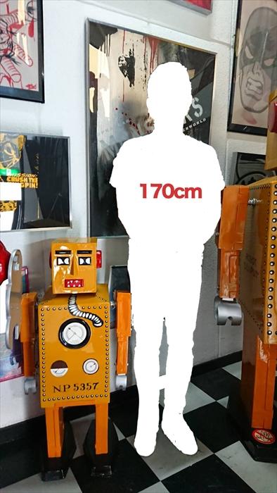 ★世界10台限定品!★世界最初のブリキ ロボット リリプット / LILIPUT 約100cm スタチュー 巨大 フィギュア [レア/大型送料品]