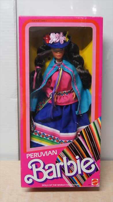 MATTEL PERUVIAN Barbie ドール・オブ・ザ・ワールド ペルー バービー キャラクター フィギュア[未開封品]