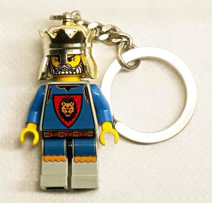 メール便OK! ◎【貴重!】 LEGO レゴ キーチェーン 【キング・レオ】