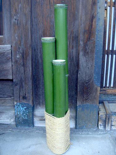 青竹門松(左右2台セット)