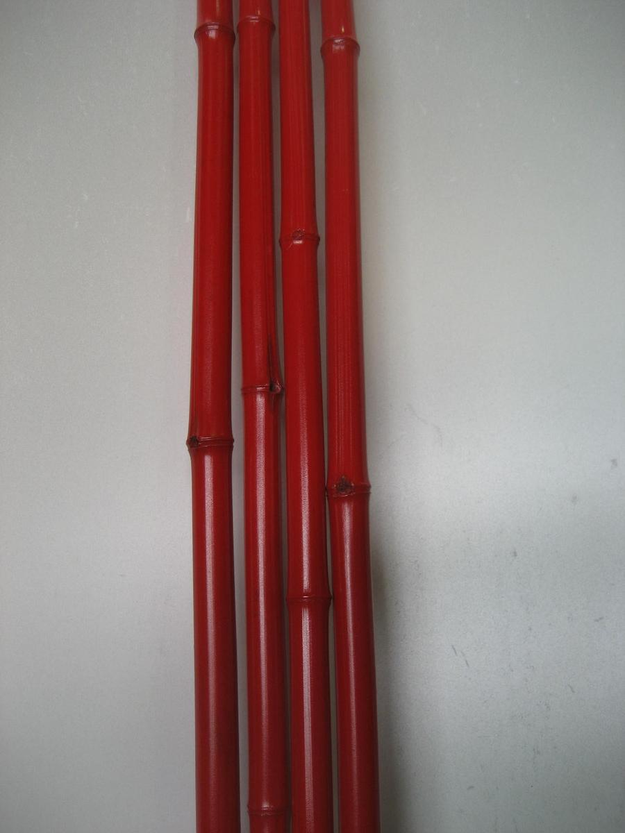 塗装竹(赤・黒)