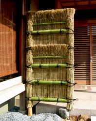 竹穂垣(2段)