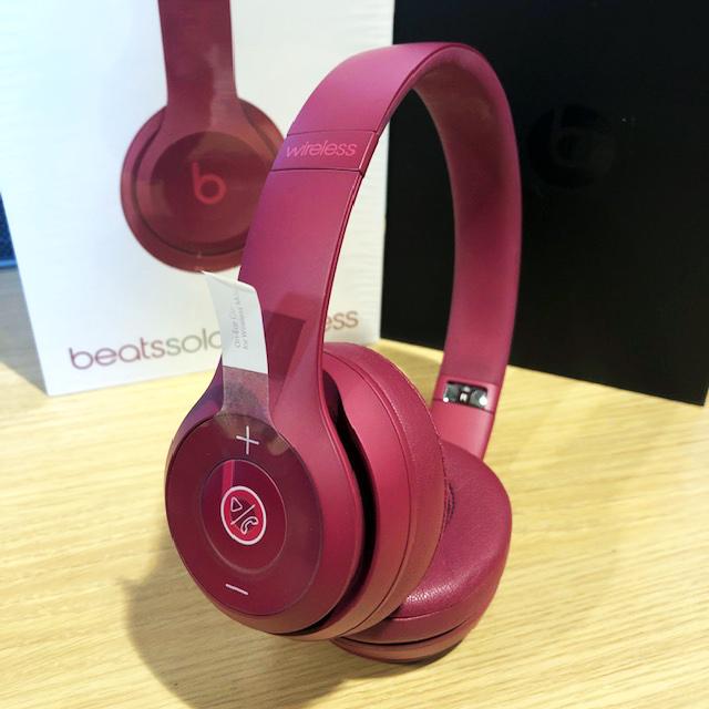 【中古品】Beats Solo3 Wireless ブリックレッド Break Red