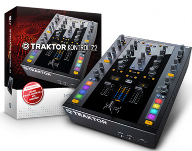 NativeInstruments TRAKTOR KONTROL Z2(DJミキサー)【送料無料】