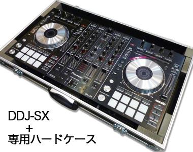 PIONEER DJコントローラー/DDJ-SX2 + 専用ハードケース【送料無料】