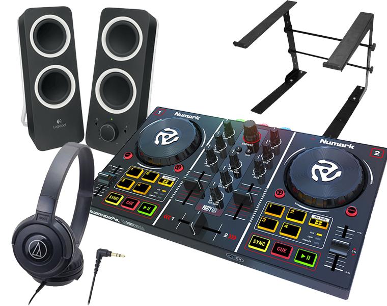 NUMARK + ATH-S100 DJコントローラーセット/PartyMix + ATH-S100 + Z200 + PCスタンド NUMARK【送料無料】【DZONE店】, ふるーつかんぱにー:aa6cee1a --- officewill.xsrv.jp