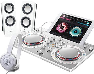 PIONEER DJコントローラーセット/DDJ-WeGO4WH + Z200WH + ATH-S100【送料無料】【DZONE店】