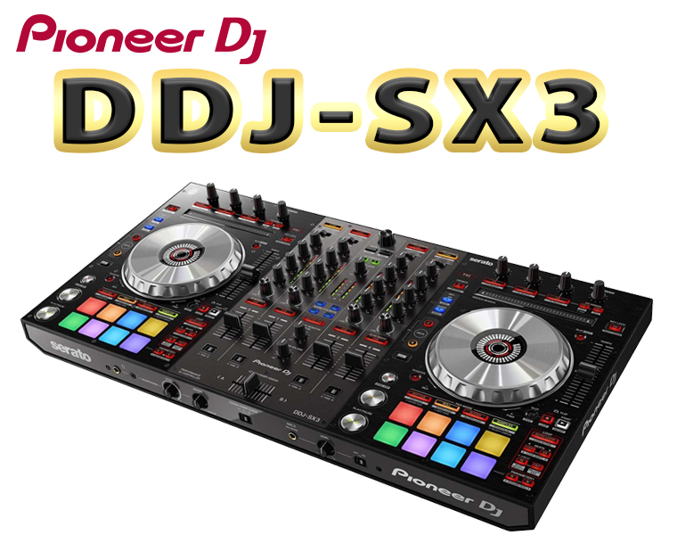 PIONEER DJコントローラー/DDJ-SX3【送料無料】