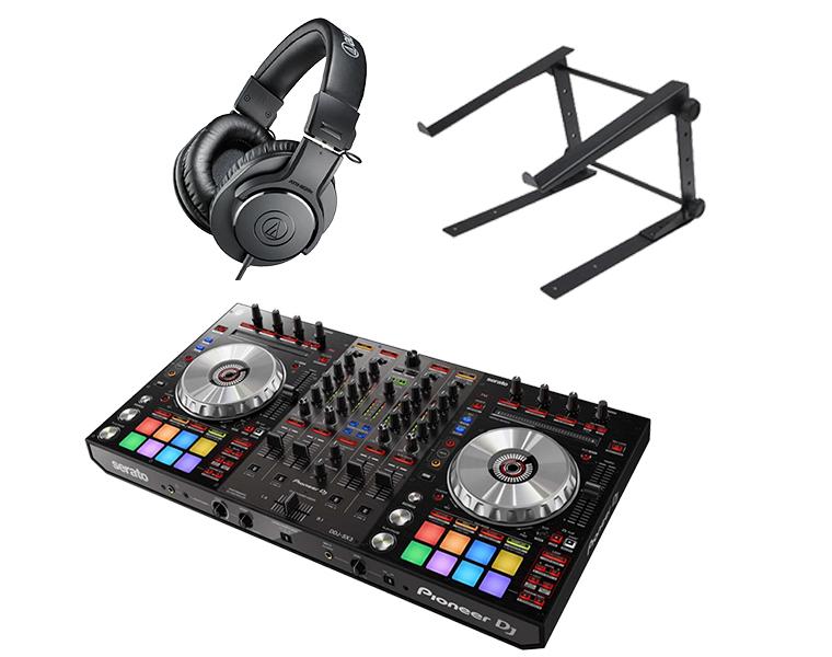 PIONEER DJコントローラー/DDJ-SX3 + PCスタンド + ATH-M20X 【送料無料】
