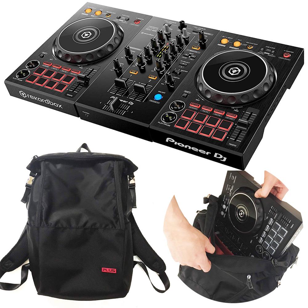 Pioneer パイオニア DJコントローラー DDJ-400 + DJバック セット rekordbox dj対応【送料無料】