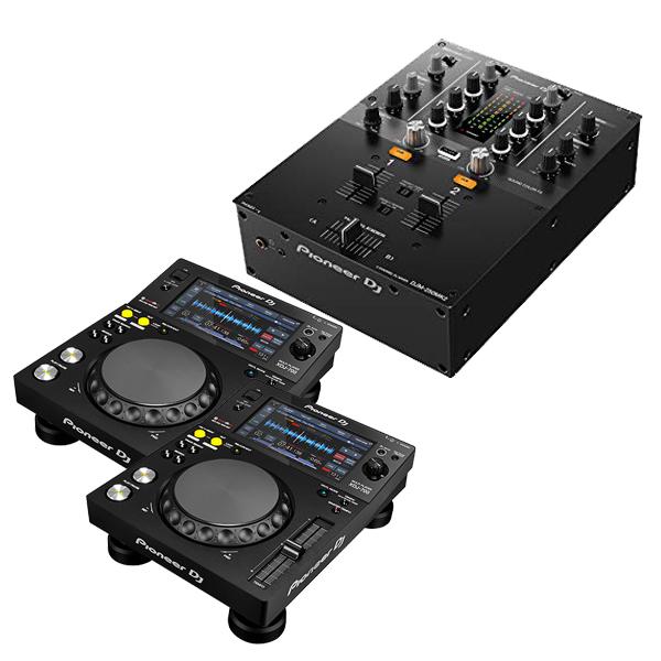 PIONEER パイオニア XDJ-700 + DJミキサー DJM-250 MK2【送料無料】