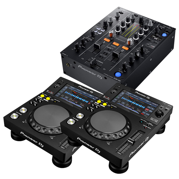 PIONEER パイオニア XDJ-700 + DJミキサー DJM-450【送料無料】