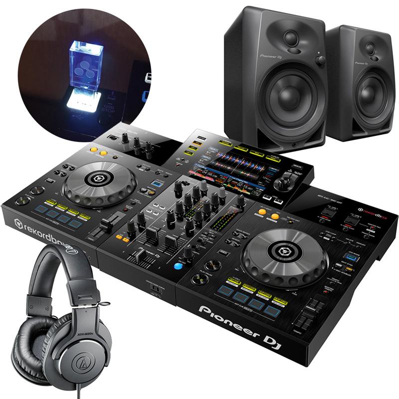 【在庫処分】 Pioneer 2chオールインワンDJシステム XDJ-RR DJセット XDJ-RR USBメモリー + ヘッドホンATH-M20X + スピーカーDM-40 スピーカーDM-40 + USBメモリー セット, 田舎な湖畔の酒屋おすすめ:3a9f8d3c --- irecyclecampaign.org