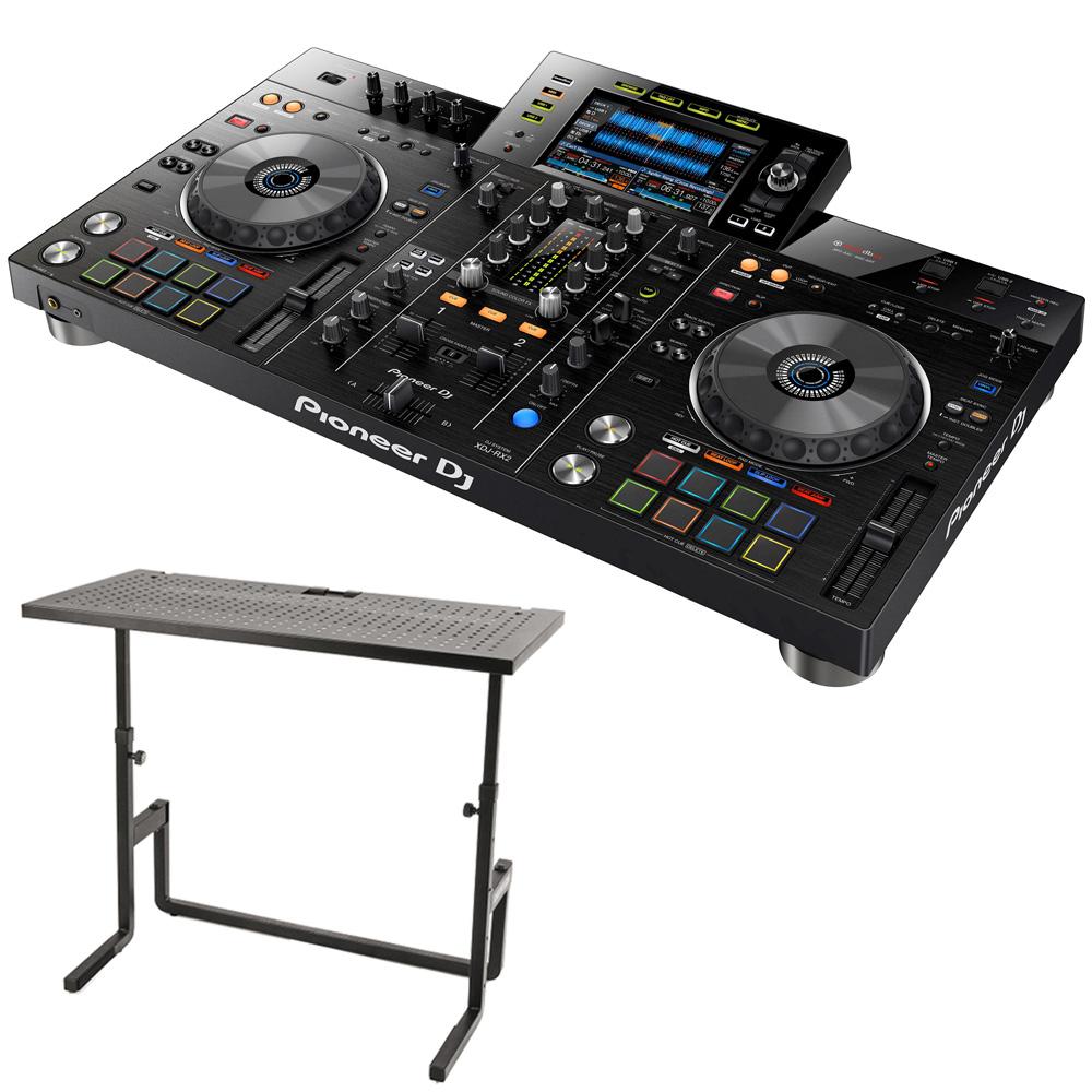 《選べる特典付き》PIONEER DJセット 一体型DJシステム XDJ-RX2 + DJテーブル【送料無料】