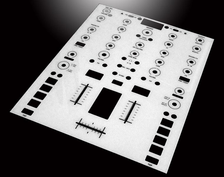 Native Instrument KONTROL Z2用 ホワイトパネルカバー
