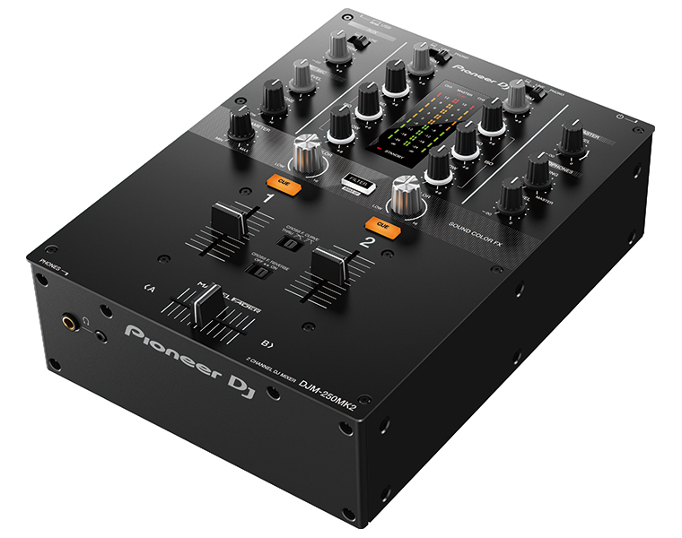 Pioneer DJ パイオニア DJミキサー DJM-250MK2 rekordbox dvs ラインセンスキー同梱【国内正規取扱品】【送料無料】