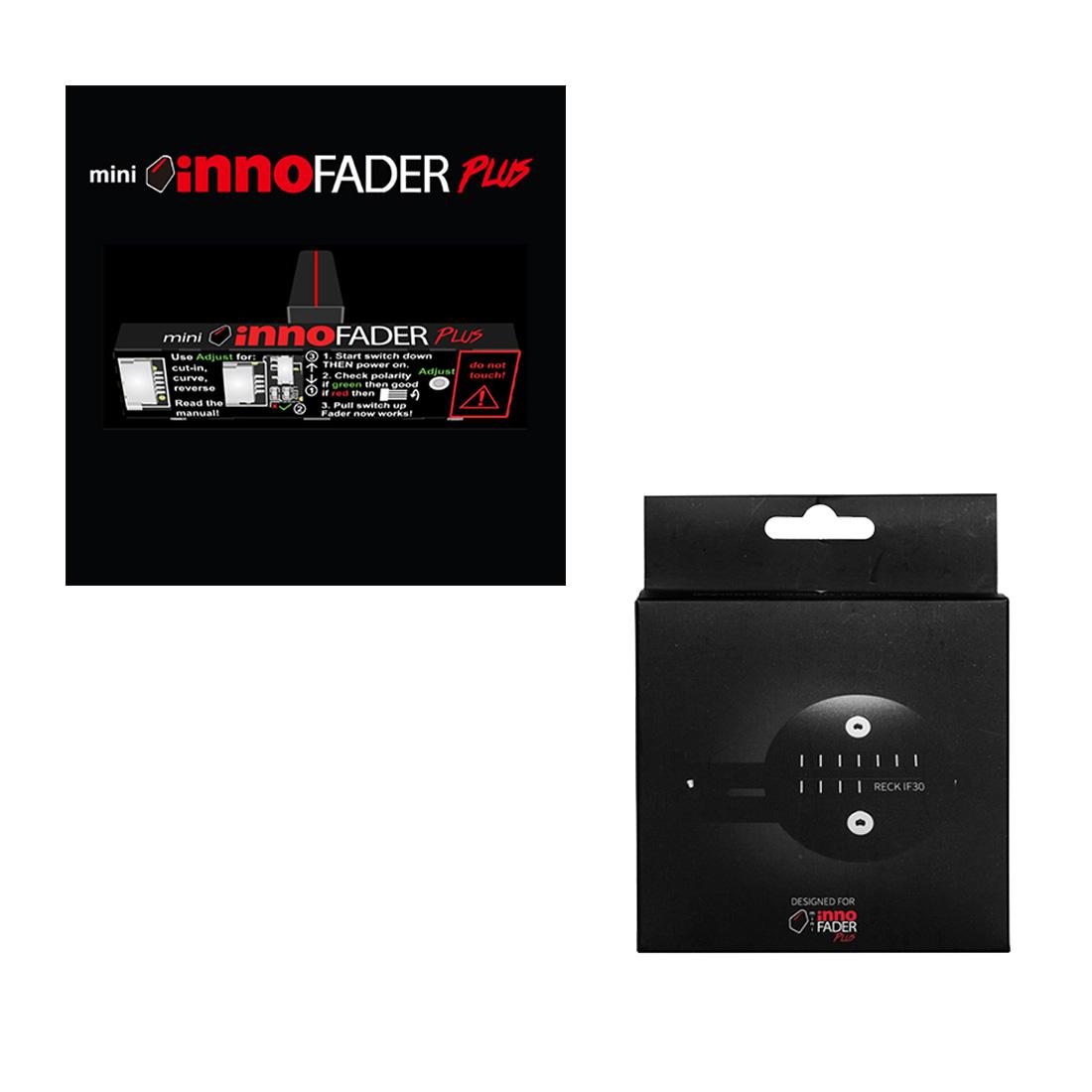 mini innofader PLUS + PT01 Scratch 専用マウントセット!( RECK-IF30 / カスタムパーツ)【送料無料】