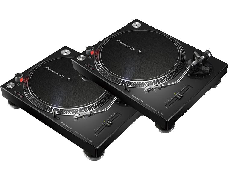【送料無料】PIONEER ターンテーブル/PLX-500 ブラック 2台セット