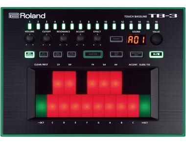 ROLAND ベース・シンセサイザー/AIRA TB-3
