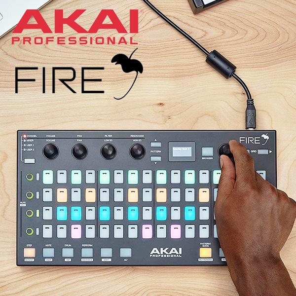 AKAI Professional FL Studio専用パーフォーマンスコントローラー FL Studio Fruity Fire Edition付属 【送料無料】