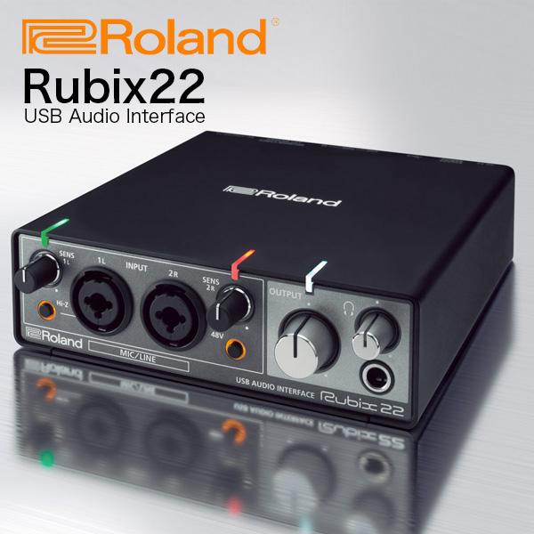 ROLAND オーディオインターフェイス Rubix22 (2in/2out) 送料無料