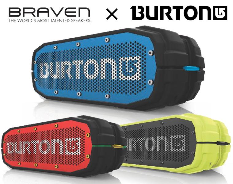 Braven × Burton ワイヤレススピーカー / BRV-X BURTON Bluetooth対応【送料無料】【DZONE店】