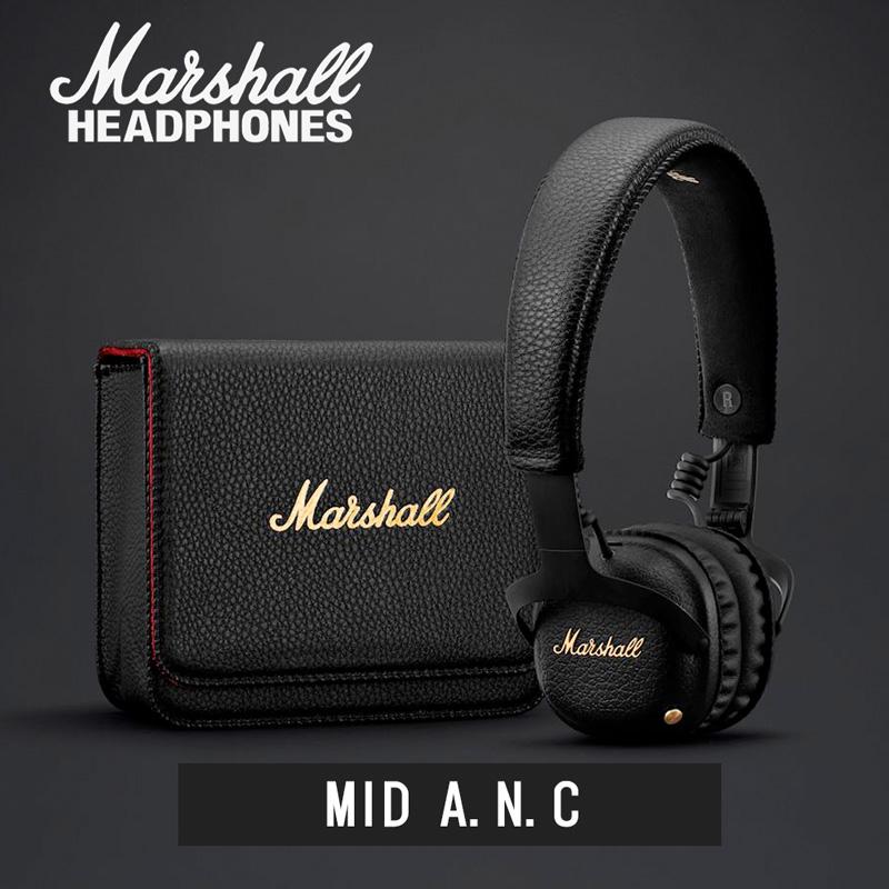 Marshall マーシャル MID A.N.C ノイズキャンセリング付 Bluetoothヘッドホン【国内正規品】【送料無料】
