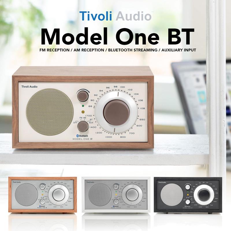 Tivoli Audio モノラルテーブルラジオ Model One Bluetooth【国内正規品】【送料無料】