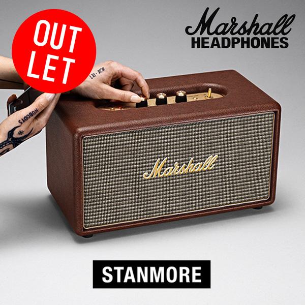 【アウトレット品】Marshall マーシャル Stanmore Bluetooth対応スピーカー ブラウン【国内正規品】【送料無料】
