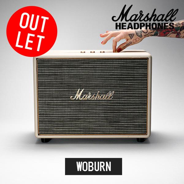 【アウトレット品】Marshall マーシャル Woburn クリーム Bluetooth対応スピーカー【国内正規品】【送料無料】